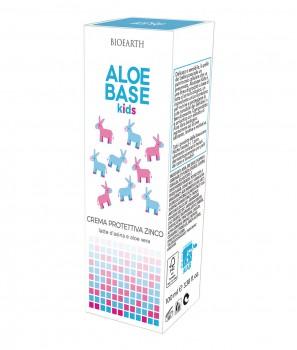 Защитен Бебешки Крем с Цинк и Магарешко Мляко 100 ml - Aloebase Kids Bioearth