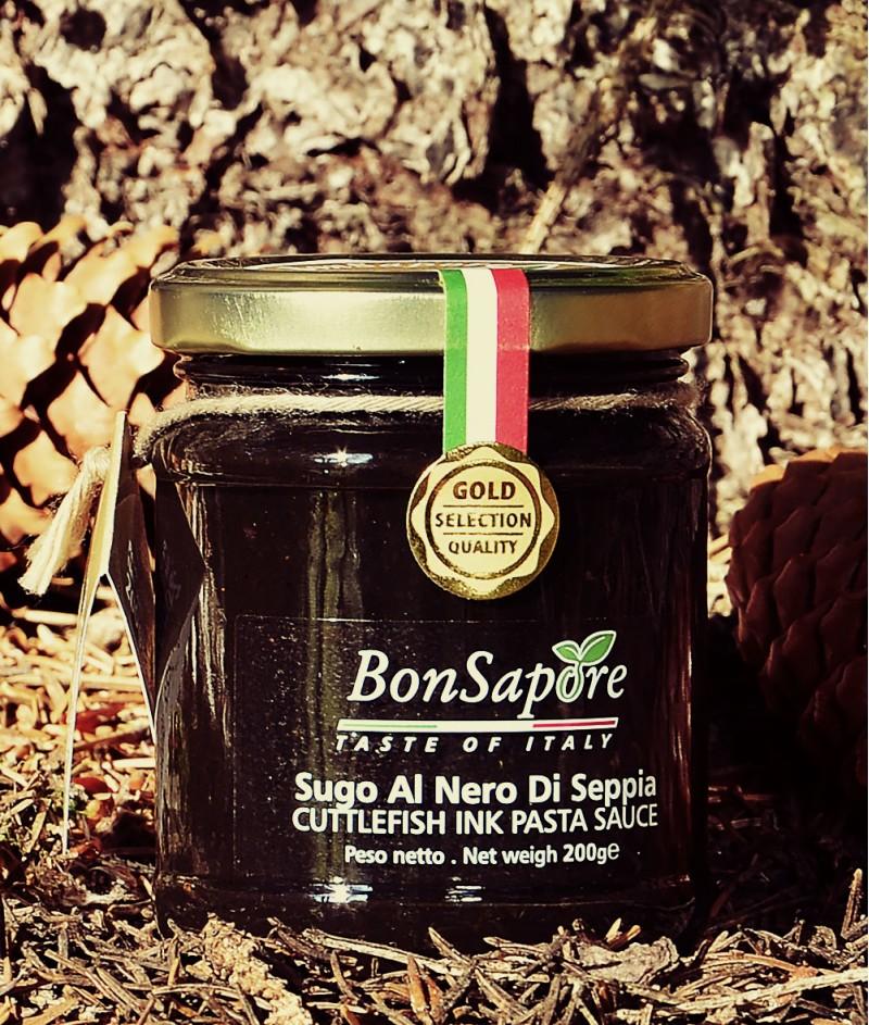 Черен Сос с Мастило от Сепия 200gr - BonSapore