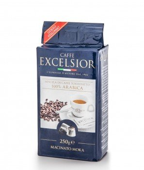 Кафе Excelsior 100% Арабика, Мляно за Кафеварка 250 g - Torrefazione Caffè Excelsior 1966