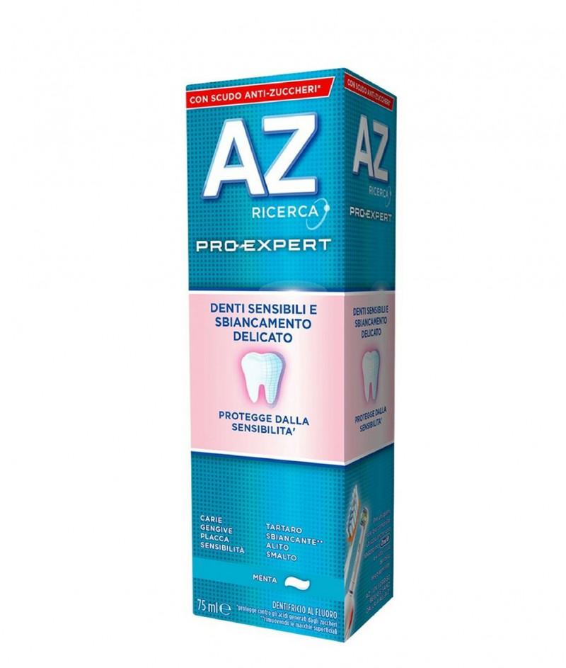 AZ Pro-Expert - Eкспертна Защита за Чувствителни Зъби и Деликатно Избелване - Паста за Зъби - 75 ml