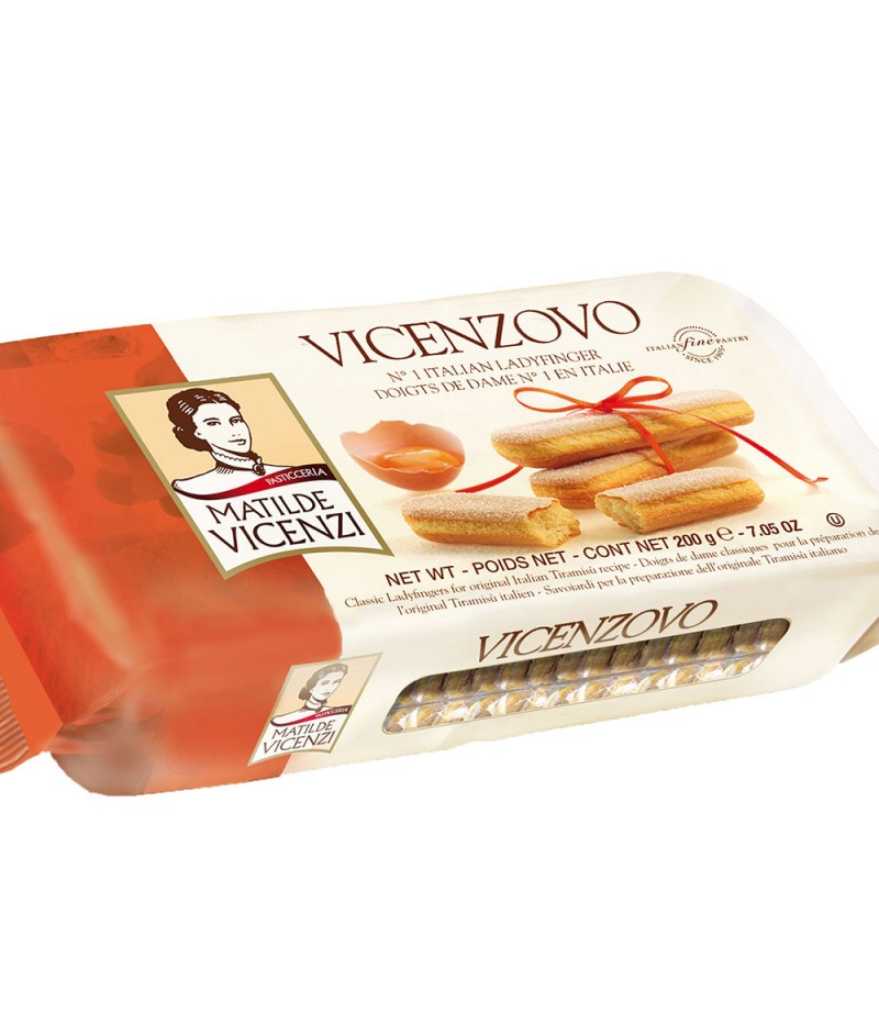 Бисквити за Тирамису ,,Savoiardi Vicenzovo di Matilde Vicenzi'' 200 gr. - Vicenzi S.p.A.