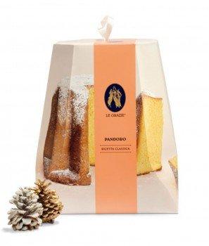 Пандоро (Златен Хляб) - Коледен Сладкиш 1000gr - Le Grazie