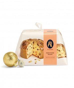 Панетоне Класически със Захаросани, Цитрусови Корички - Коледен Сладкиш 1000gr - Le Grazie