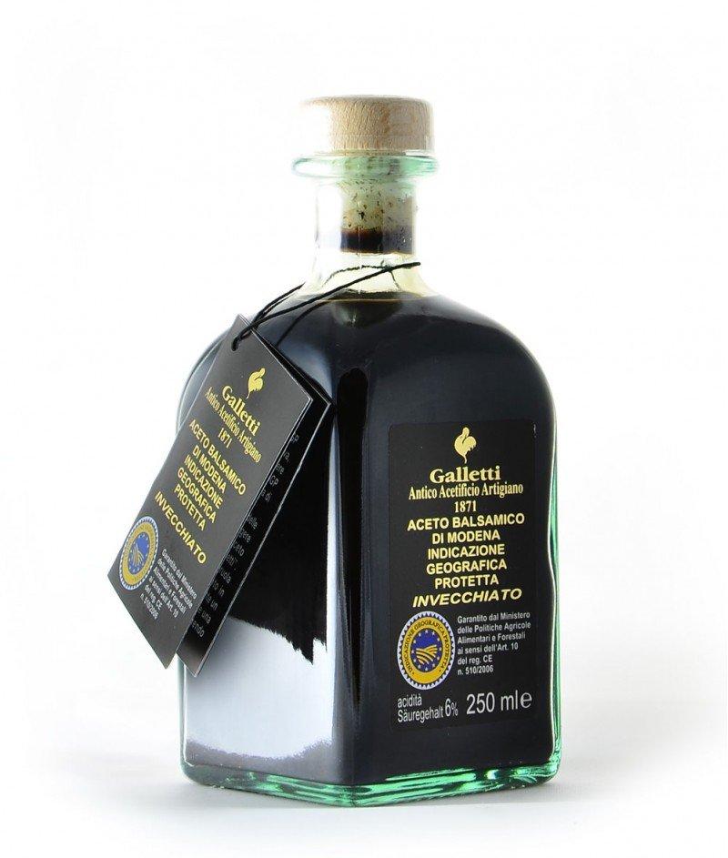 Балсамов Оцет от Модена IGP 250 ml, Отлежал 3 год. -  Galletti 1871