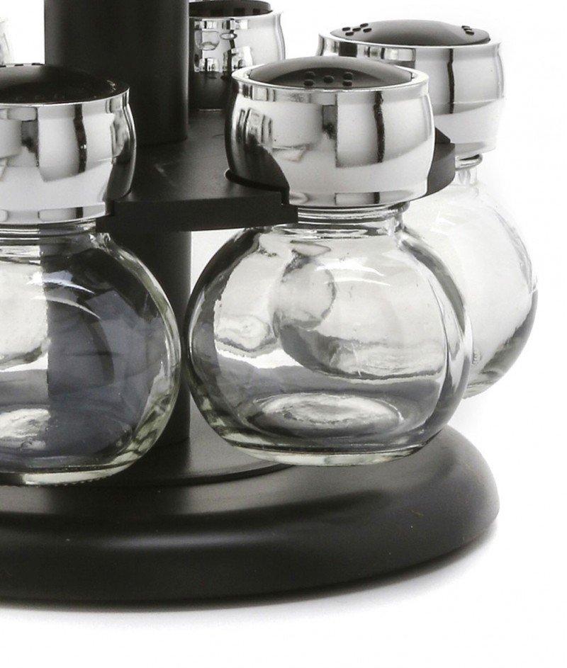 Комплект за 12 Подправки на Въртяща се Поставка - Kasanova