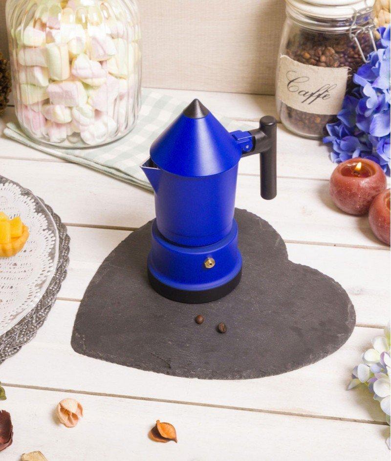 Кафеварка за 3 Кафета ,,Молив'' Синя - Kasanova
