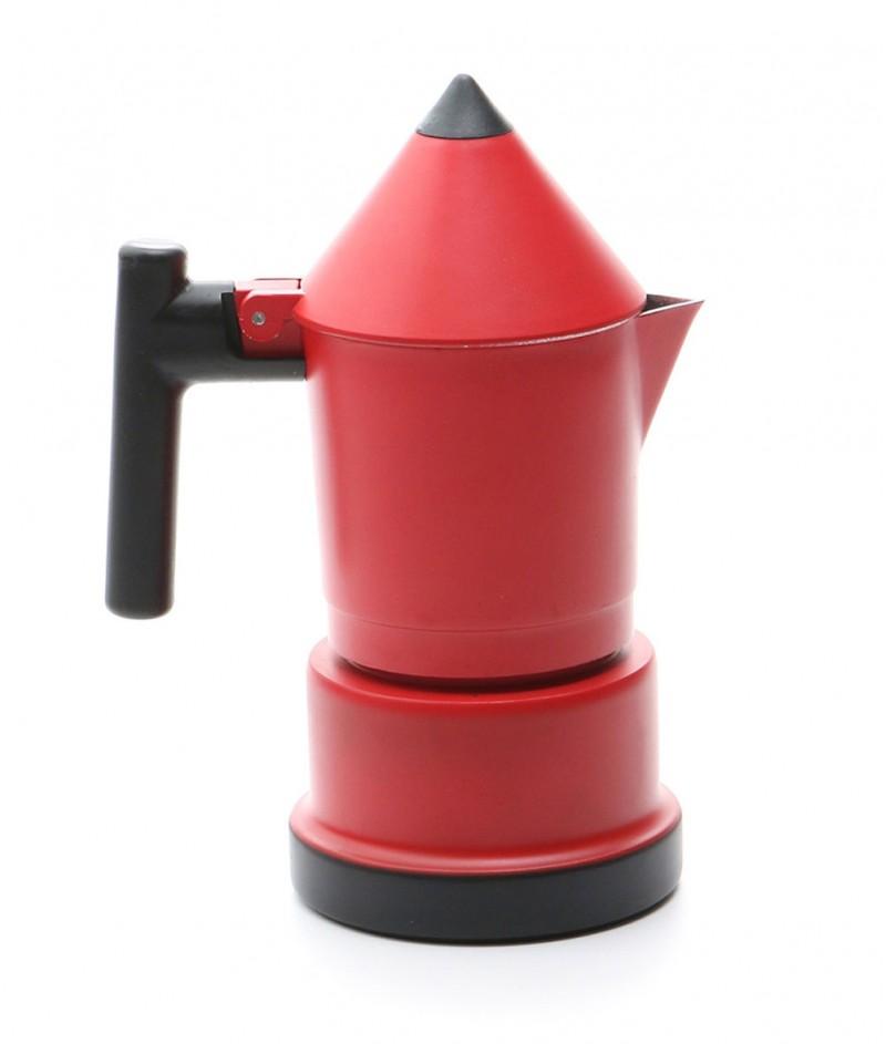 Кафеварка за 3 Кафета ,,Молив'' Червена - Kasanova