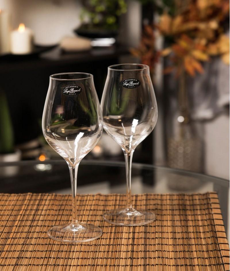 Кристални Чаши за Бяло Вино 6 бр. - Accademia Luigi Bormioli