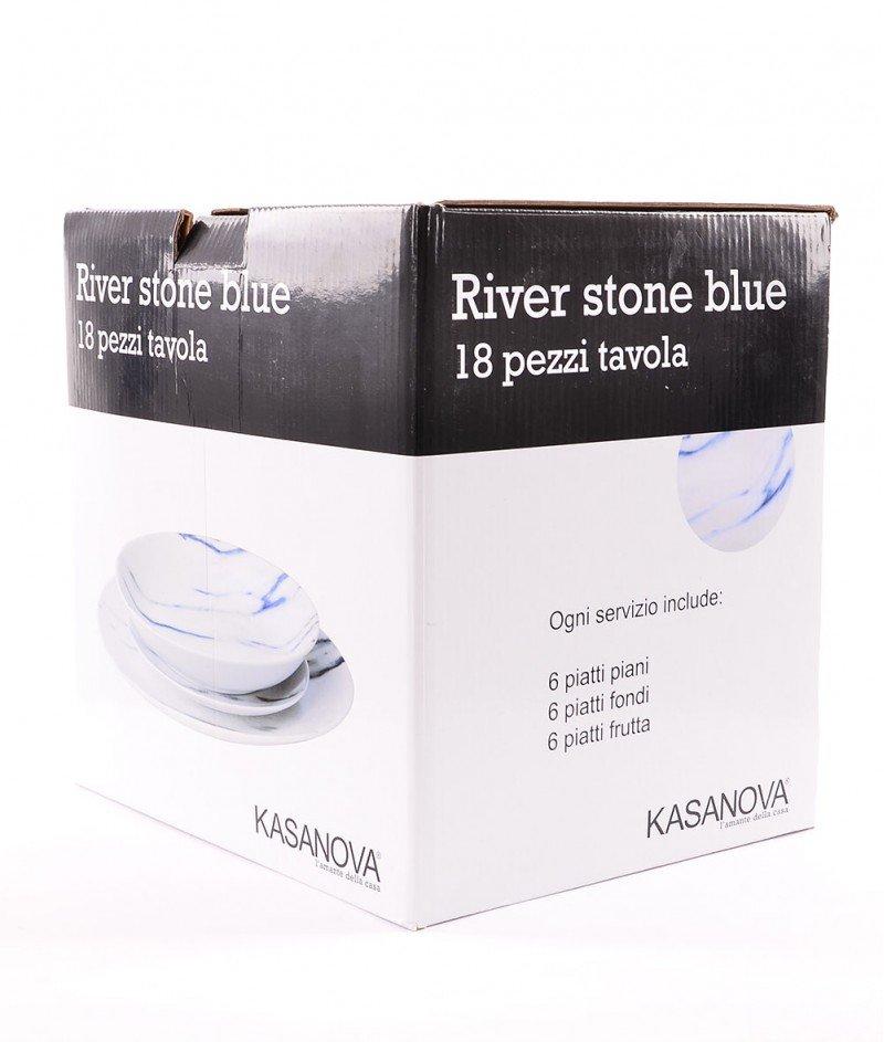 Сервиз За Хранене ,, Речен камък'' - 18 бр. - Kasanova