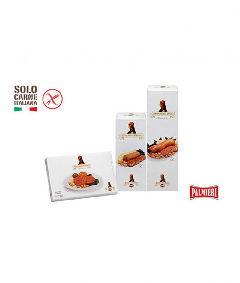 Свинска Наденичка Cotechino Gluten Free 500 g -  Новогодишен Деликатес от Модена - Palmieri