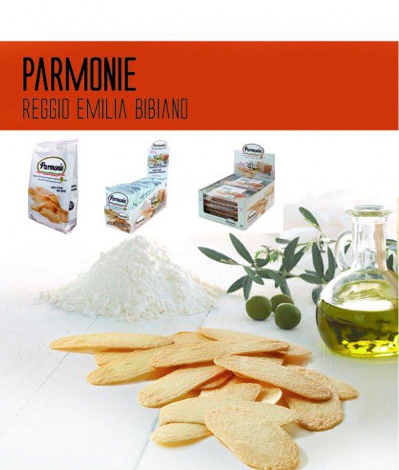 Листенца Чипс от Пармиджано Реджано DOP 24 месеца 50 g - Parmonie