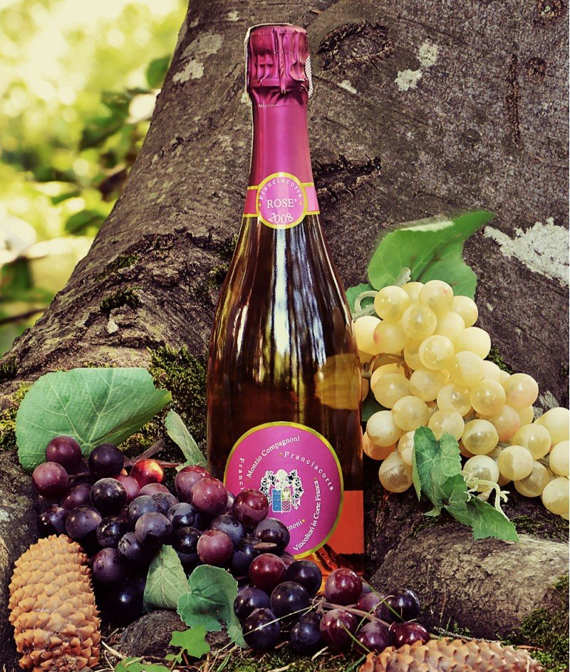 Franciacorta Brut Rose Millesimato DOCG Metodo Classico M.Compagnoni - 750ml