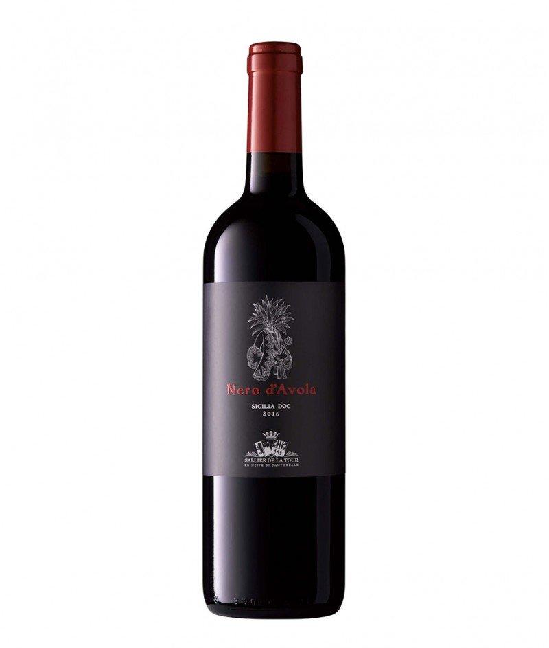 Nero d'AvolaSicilia 2016 DOC 750 ml - Tenuta Sallier de la Tour - Tasca d'Almerita – Червено, Сухо Негазирано Вино