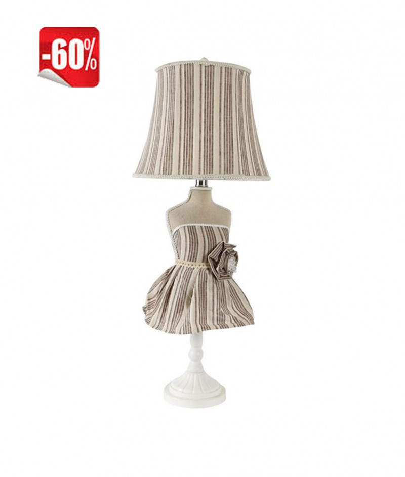 Настолна Лампа с Рокля 73 cm - B&B sas di Bego Romeo & C.